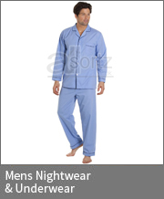 Mens Nightwear & Underwear